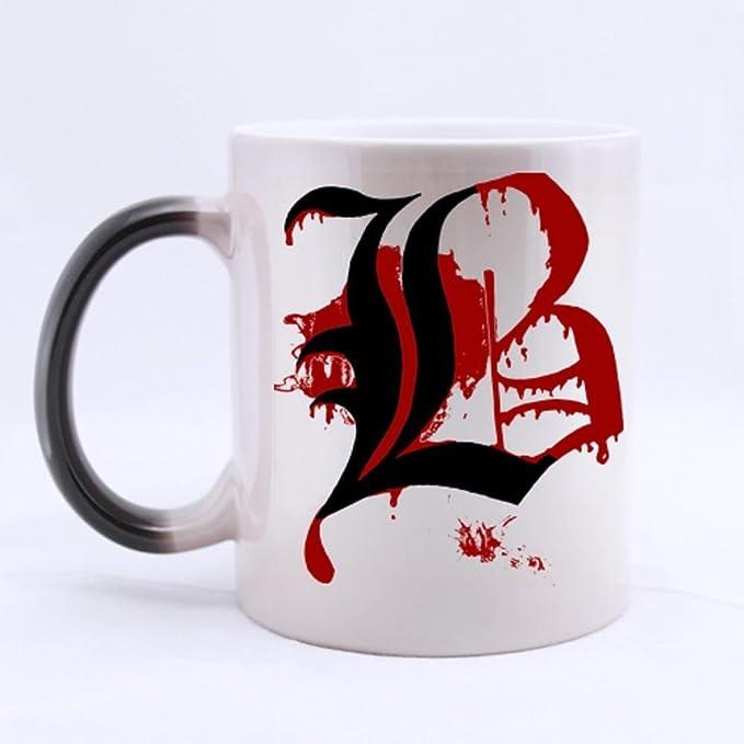 Amazon Emana Death Note Symbol Cool Customized Water Coffee Mug