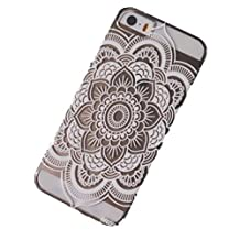 ABC® iPhone5 5s Case Cover, iPhone5 Case, iPhone5s Case, Hot Sell Henna Full Mandala Floral Dream Catcher Cover Case for iPhone 5 5s