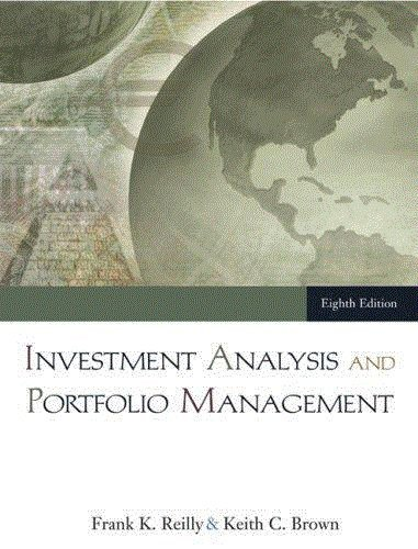 Download Investment Analysis and Portfolio Management By Reilly & Brown (8th, Eighth Edition) pdf epub