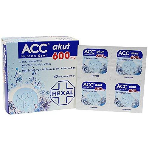 Acc Akut 600 Mg 40 Effervescent   Nac Effervescent Tablets