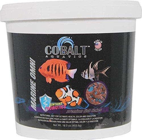Cobalt Aquatics Marine Omni Flake, 16 oz