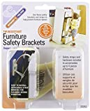 Baby : Mommys Helper Tip Resistant Furniture Safety - 3 Packs Of 8 Count = 24 Count by Mommy's Helper