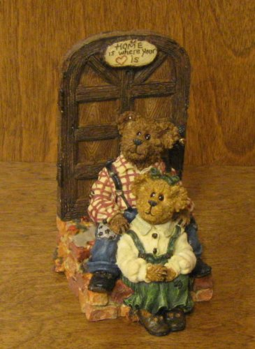 Boyds Bears Resin George & Gracey Two Hearts Exclusive Bearstone - Resin 5.00 IN