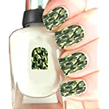 Easy to use Wraps, High Quality Nail Art Decal Stickers For Every Occasion! Ideal Christmas Present, Stocking Filler Camo by SimplyNailArtDesign