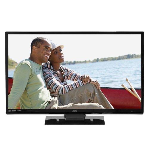 "JVC LT-24DE73 24"" 720p LED HDTV and DVD Player Combo TV"