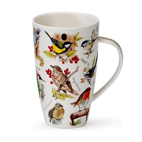 Dunoon Henley Fine China BIRDLIFE All Birds Mug Cup 20.29 fl oz