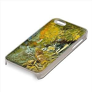 Van Gogh - Saint-Remy, Custom Claro PC Ultradelgado Caso Duro Carcasa Funda Protección Tapa Hard Case Cover Shell con Diseño Colorido para Apple iPhone 5 5S.