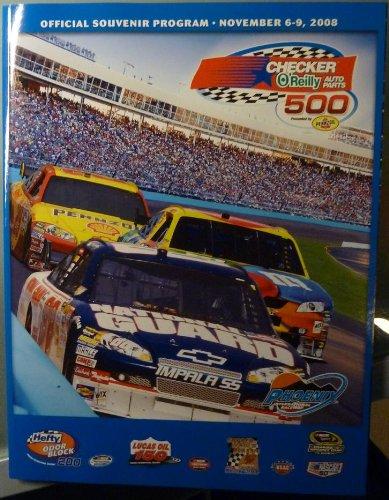(Official Program - Checker O'Reilly Auto Parts 500 Presented by Pennzoil - Phoenix International Raceway - November 5 - 9, 2008 - NASCAR)