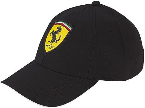 Gorra Scuderia Ferrari Oficial Clásica Negra: Amazon.es: Deportes ...