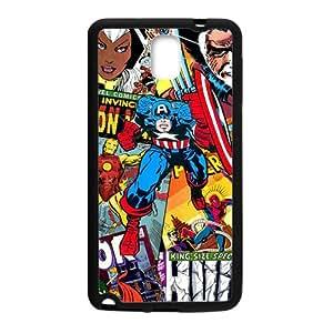 Captain America Super Heros Black Samsung Galaxy Note3 case