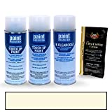PAINTSCRATCH Diamond White Pearl Tricoat W13 for 2017 Mitsubishi Lancer - Touch Up Paint Spray Can Kit - Original Factory OEM Automotive Paint - Color Match Guaranteed