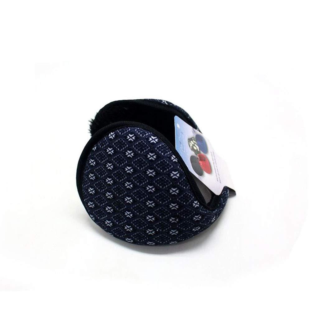 JULAN 4 Pack Mens Winter Warm Earmuffs Ear Warmers Soft Plush Fleece Ear Covers