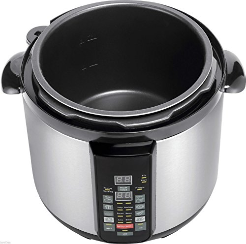 GoWISE USA Electric 6-in-1 Slow Cooker Pressure Cooker 4 QT Slow Cook