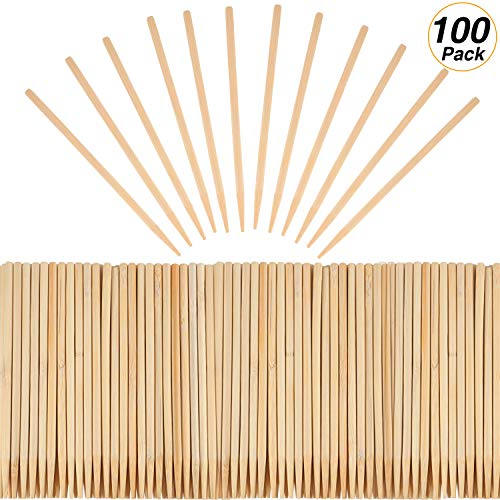 SATINIOR Heavy Duty Wood Stylus Tools for Scratch Art Wooden Stylus Stick Art Sticks (Pack of 100)