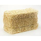 FloraCraft Mega Straw Bale, 12 by 12 by 24-Inch