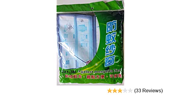 Insect Mosquito Door Window Mesh Screen Sticky Tape Net