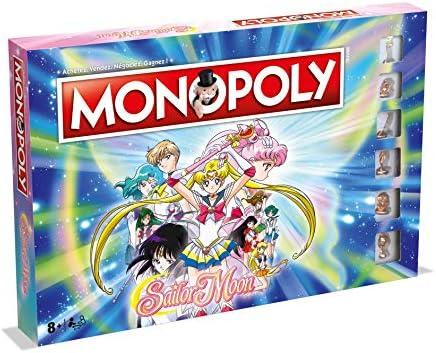Monopoly Sailor Moon - Juego de Mesa (versión Francesa): Amazon.es: Juguetes y juegos