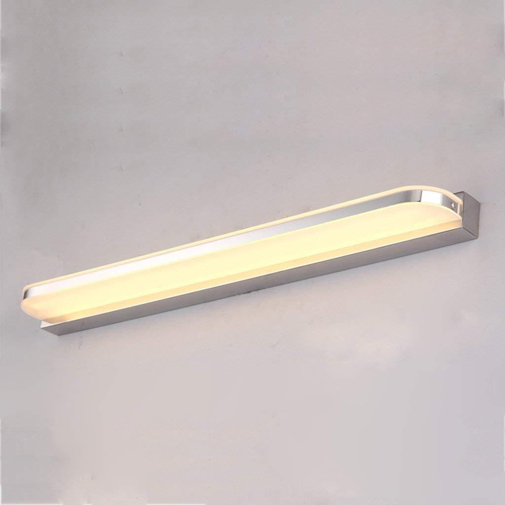 Fenciayao トラック&バスルームの照明は、モダンなミラーキャビネットランプのライトのフロント楽器防水LED霧無料ミラーバスルームをミラーリングします。 (Color : Warm Light-60cm)  Warm Light-60cm B07RGKLDQH