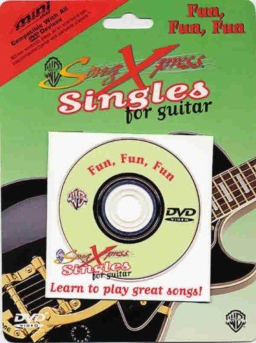 SongXpress Singles for Guitar -- Fun, Fun, Fun (miniDVD)