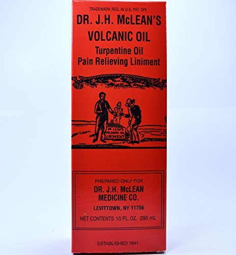 - Dr. J.H. McLean's Volcanic Oil Liniment, 10 Oz