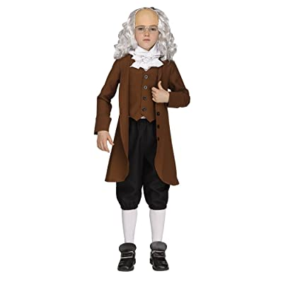 Boys Ben Franklin American President Costume: Toys & Games