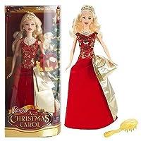 Barbie en un cuento de navidad - vestido rojo