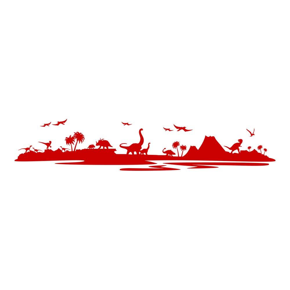 Azutura Dinosaurier-Landschaft Wandtattoo Jurassic Park Wand Sticker Kinder Kinder Kinder Schlafzimmer Haus Dekor verfügbar in 5 Größen und 25 Farben X-Groß Wolke Grau B00DOHC5S6 Wandtattoos & Wandbilder c3af57
