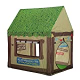 Kids Play Tent Children Playhouse – Indoor Outdoor Tent Model Clubhouse Green Portable by K-F Decorations