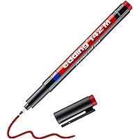 Edding 142 M çok amaçlı asetat kalemi, permanent kırmızı