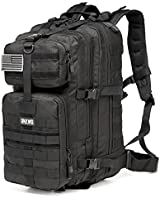CRAZY ANTS Military Tactical Backpack 3 Days 45L Waterproof Pack Outdoor  Gear for Camping Hiking 33691b5160de9