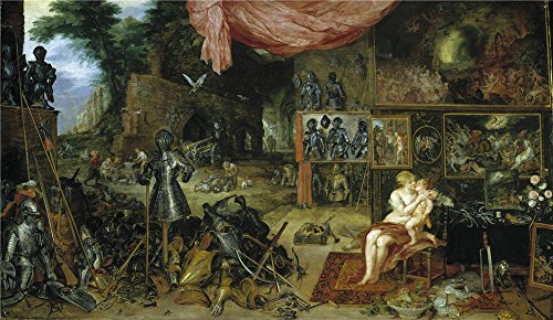 'Rubens Peter Paul Brueghel The Elder Jan Touch Ca. 1617 ' Oil Painting, 20 X 34 Inch / 51 X 88 Cm ,printed On Perfect Effect Canvas ,this Cheap But High Quality Art Decorative Art Decorative Canvas Prints Is Perfectly Suitalbe For Kitchen Gallery Art And Home Decoration And
