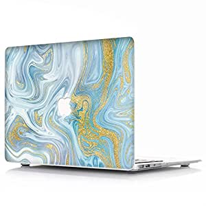 RQTX Funda Dura para Apple MacBook Air 13 Pulgadas Modelo A1466//A1369 port/átiles Accesorios de pl/ástico Protecci/ón M/ármol Dise/ño R/ígida Carcasa Patr/ón 30