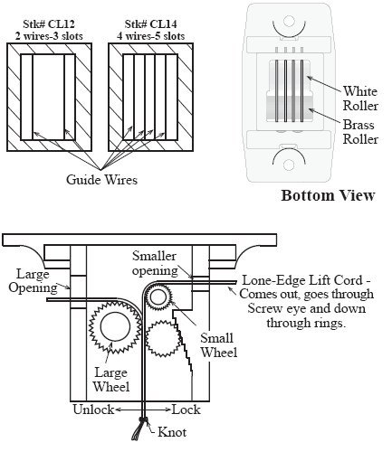 wire locking mechanisms