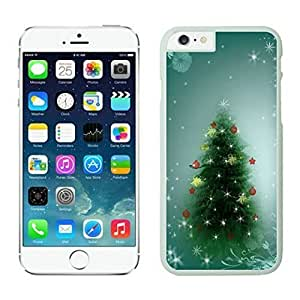 The Christmas Tree On Christmas Day Lovely Mobile Phone Protection Shell for iphone 6 Case-Unique Soft Edge Case(2015),Christmas tree iPhone 6 Case 4 White