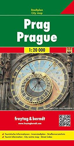 Gesamtplan Prag. Stadtplan. 1 : 20 000.