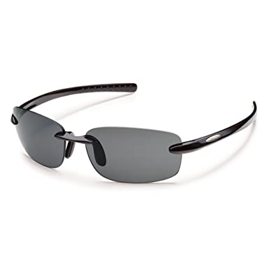 989961b987 Amazon.com  Suncloud Optics Momentum Rimless Polarized Sunglasses ...