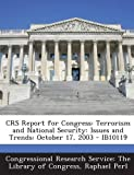 Crs Report for Congress, Raphael Perl, 1293020419