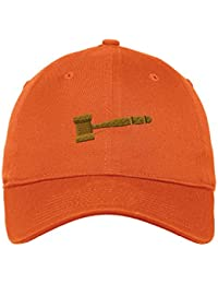 64c41955da2 gavel Judge Trial Embroidery Unisex Cotton 6 Panel Low Profile Hat