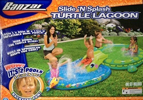 Slide 'N Splash Turtle Lagoon by Banzai by Banzai