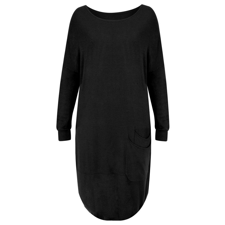 Arka - Lisbet Easy Fit Long Tunic, Black