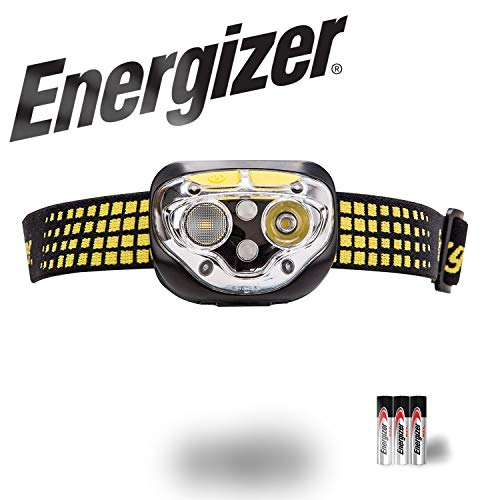 Energizer LED Headlamp, Vision Ultra Head Lamp Flashlight with 6 Modes and HD Optics