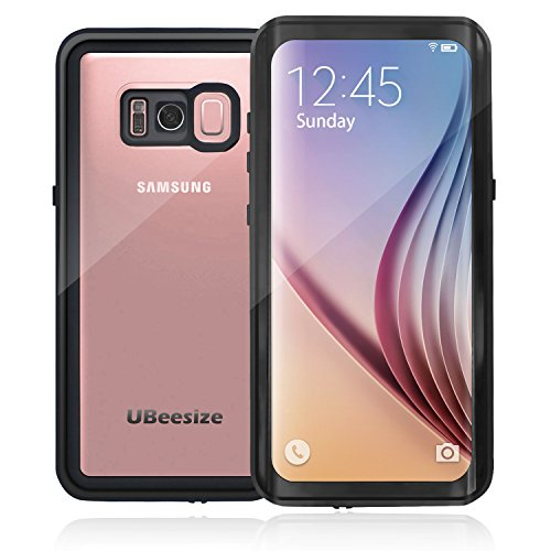 Price comparison product image Samsung Galaxy S8 Waterproof Case, UBeesize ShockProof IP68 Certified Waterproof Case with Dirtproof Snowproof Full Body Cove for Galaxy S8(5.8inch)