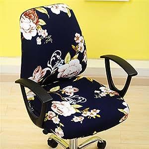 Kbsin212 funda giratoria para silla de oficina estilo simplismo funda extra ble para silla - Funda silla escritorio ...