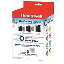 Bundle of Two Honeywell Filter R True HEPA Replacement Filter 3 Packs, HRF-R3 by Honeywell