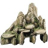 Europet Bernina 234-104576 Decor-Stein Slate 25.5 x 15.5 x 20 cm Farbe: Moos