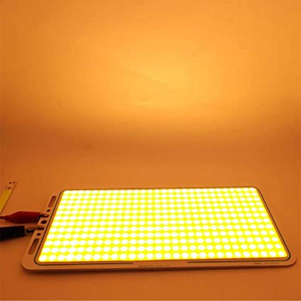 DC 12V LED Panel COB Strip Light 70W Chip Warm White FLIP Module Car Light Lamp