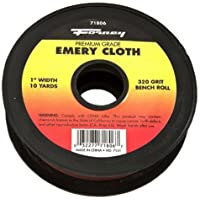 Forney 71806 Emery Cloth, 320-Grit, 1-Inch-by-10-Yard Bench Roll by Forney