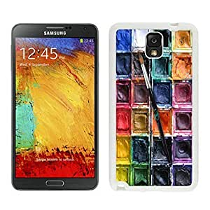 Beautifulcase Watercolor Sets Witeh Brushes 4 Samsung Galaxy Note 3 case cover Customized White Cover hFZEvaX5Wje from xilaile