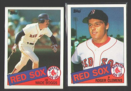 (1985 TOPPS - BOSTON RED SOX Team Set w/Roger Clemens RC)