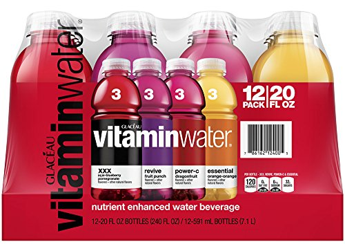 vitaminwater variety pack, 20 fl oz (Pac - Glaceau Vitamin Water Shopping Results